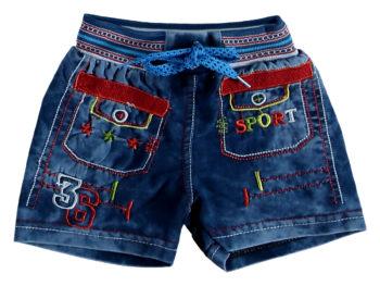 Шорты джинсовые 1/4 года 322733